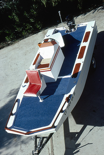 The Stevenson Projects Bass Boat