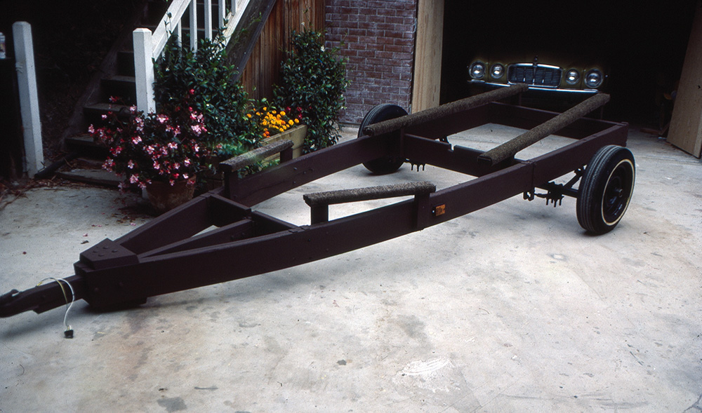 The Stevenson Projects Boat Trailer