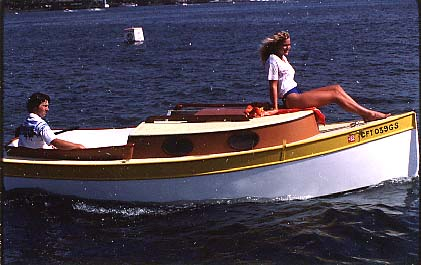 Seat Boat: Plywood catboat boat plans